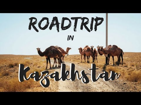 Hitchhiking in Kazakhstan - Roadtrip through the desert (par