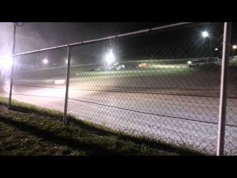 Jason's first win in a modified. GCS 6/21/14