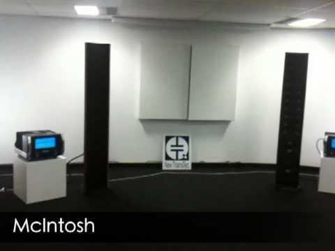 Demo of McIntosh amp + XRT28 speakers