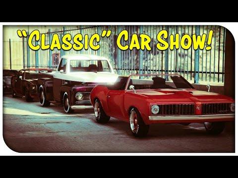 GTA 5 Online – CLASSIC CAR SHOW! [GTA V]