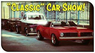 GTA 5 Online - CLASSIC CAR SHOW! [GTA V]