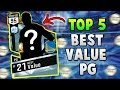 TOP 5 BEST VALUE POINT GUARDS in NBA 2K17 MyTEAM