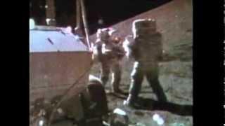 Apollo 15 Complete EVA-2 TV Transmissions (Part 1)