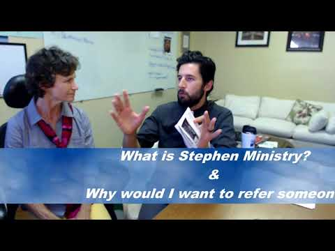What is Stephen Ministry & How Do You Refer Someone For Care?