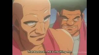 [Hajime no Ippo] Takamura beat a challenger using only his left thumbnail