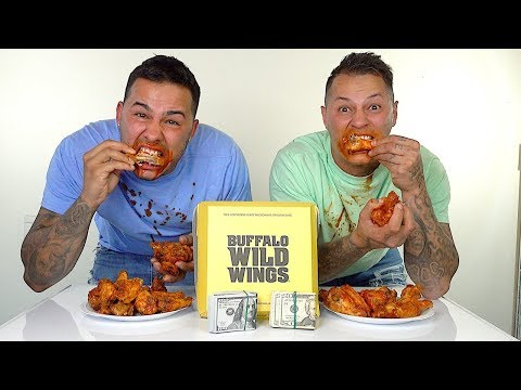 HOTTEST CHICKEN WINGS IN THE WORLD!!! ** $1,000 CASH BET!!! **