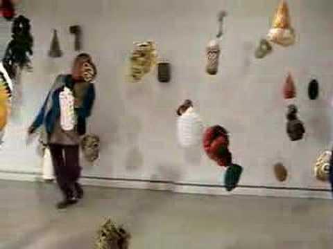 Hooked, Sculpture Installation