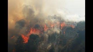 Drastic Fire In San Jose communication hill - California 2017