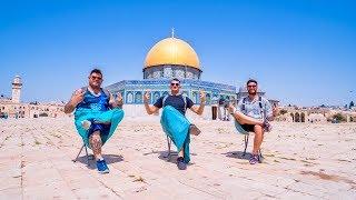 ISRAELE Tre vecchi Amici a Gerusalemme e i suoi Dintorni