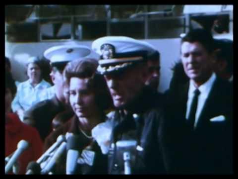 U.S.S. Pueblo crew comes home (1968)
