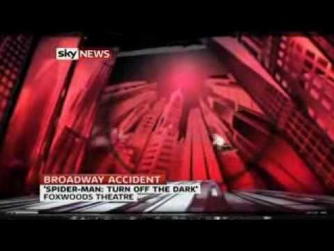 Spiderman Stuntman Hurt In 30ft Broadway Theatre Plunge