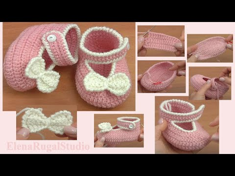Baby Shoes Crochet Tutorial