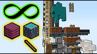 Minecraft Infinite Wood Factory! | 1.16+ [150,000 Subscriber Special]
