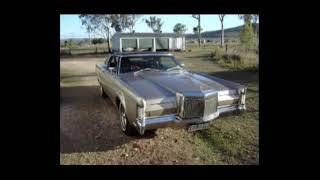 Elvis 1969 Mark 3 iii Lincoln Continental featuring Little Sister.