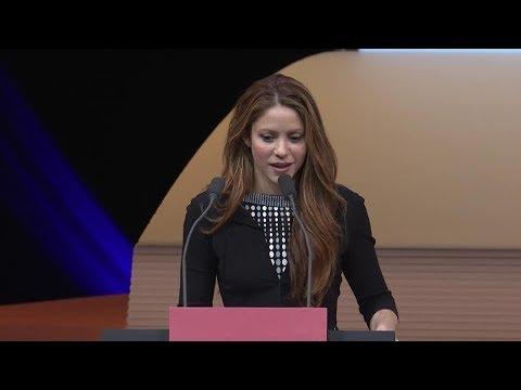 Shakira - World Innovation Summit for Education, #WISE19 (Qatar)