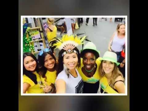 Mivida Movement at Brisbane Brazilian Day Street Festival 2015