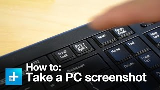 How to take a screenshot on a PC thumbnail