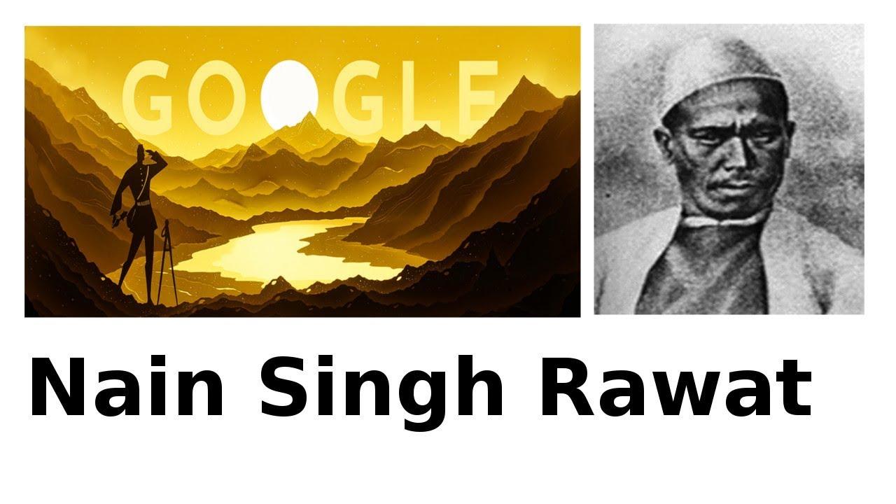 Nain Singh Rawat google doodle