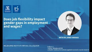 Does job flexibility impact gender gaps in employment and wages?