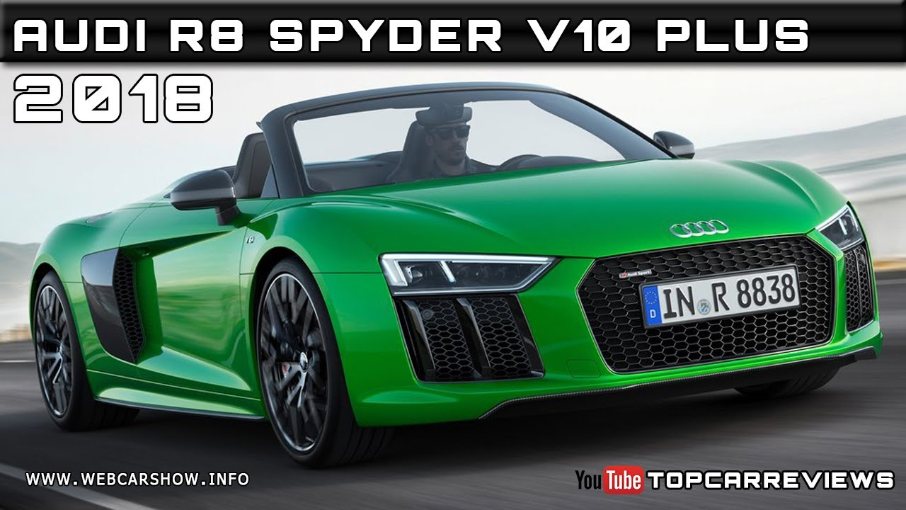 2018 audi r8 spyder v10 plus review rendered price specs. Black Bedroom Furniture Sets. Home Design Ideas