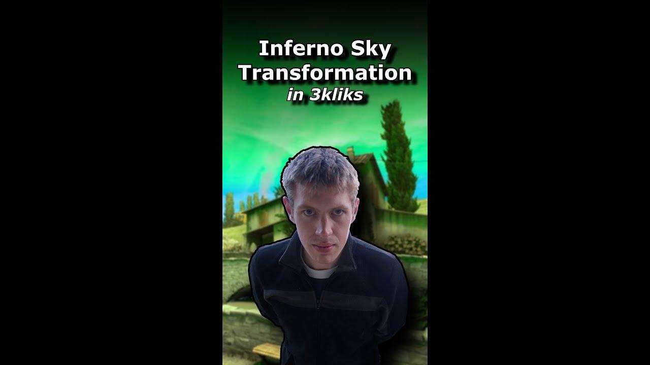 Inferno Sky Colours - Summarised in 3kliks #shorts