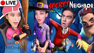 🔴LIVE Secret Neighbor: Kubz Scouts, LaurenzSide, Smajor, Joey Graceffa, Showthyme | Gloom