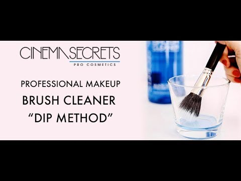 "Cinema Secrets Makeup Brush Cleaner ""Dip Method"""