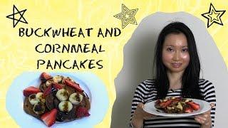 Buckwheat & Cornmeal Pancakes Recipe - Vegan & Gluten Free