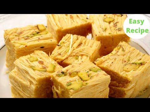 HALDIRAM WALI SOAN PAPDI RECIPE सबसे आसान | Patisa Recipe  | Indian Sweets | Cook with Bir