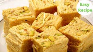 HALDIRAM WALI SOAN PAPDI RECIPE सबस आसन  Patisa Recipe   Indian Sweets  Cook with Bir