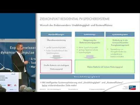 Kompaktspeicher: Placebo oder Zukunftslösung? (Bad Staffelstein-Vortrag, 2015)