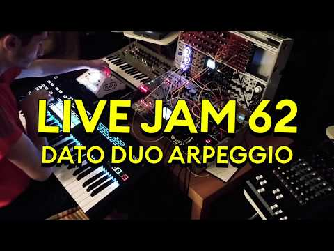 DATO DUO, Minilogue And Modular // LIVE JAM 62