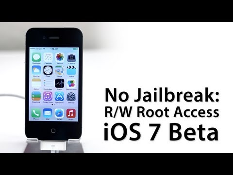 Step By Step Guide: How To Access Root Of iPhone 4 Running On iOS 7