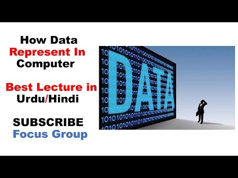 How Data Represent In Computer System || Computer Science || Lecture in Urdu/Hindi