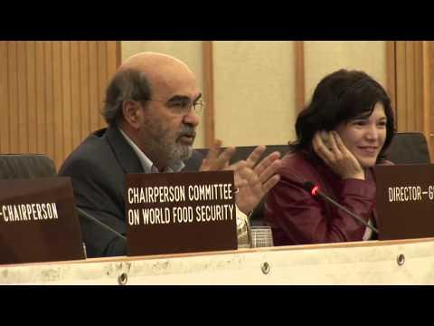 CSMechanism: José Graziano da Silva FAO General Director, Brazil