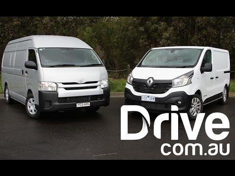 2015 Toyota HiAce v Renault Trafic Comparison | Drive.com.au