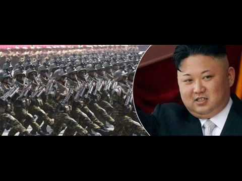 NORTH KOREAS ARMY 1, 2 MILLION STRONG -.  5TH LARGEST ARMY  IN THE WORLD!!