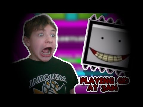 DON'T PLAY GEOMETRY DASH AT 3AM!!! *LOST LEVEL* *NOT CLICKBAIT!!11!1* (Parody)