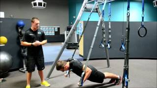 human suspension trainer chest workout
