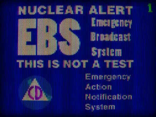 Emergency Broadcast System 1988 (USA) MOCK. - WARNING HEADPHONE USERS
