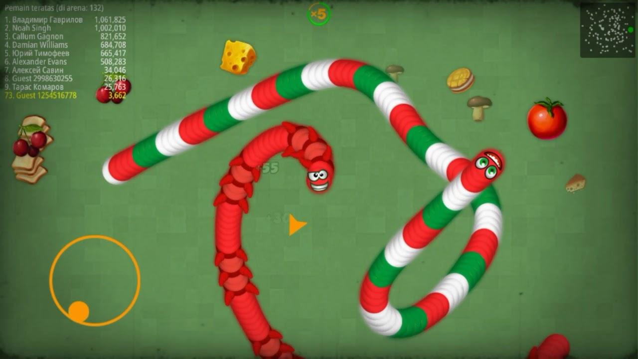 Cara ngecheat gold di game worms zone.io-voracius snake ...