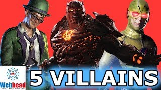5 Villains That NEED To Be In The DCEU! | Webhead