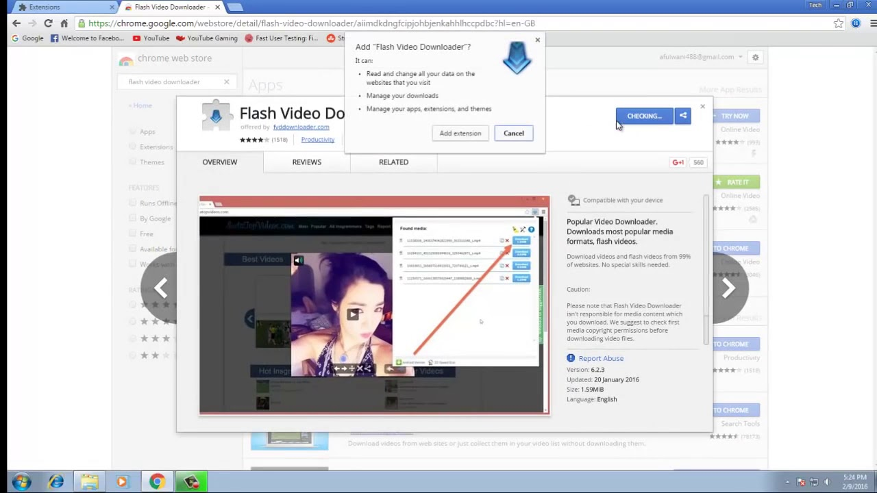 how to download videos from any website using google chrome