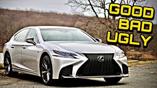 2018 Lexus LS500 F Sport AWD Review: The Good, The Bad, & The Ugly