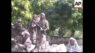 Government forces capture rebel in Baidoa, rebels driving through Mogadishu