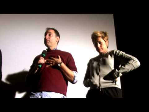 "Q and A with Edie Falco and Eric Mendelsohn for the film ""3 Backyards"""