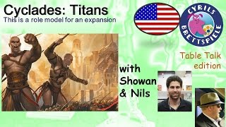 Cyrils Brettspiele - Table Talk Edition (eng.) - Cyclades: Titans - TS16