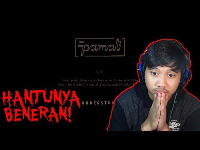 JANGAN MAIN! PAMALI! - PAMALI HOROR GAME INDONESIA