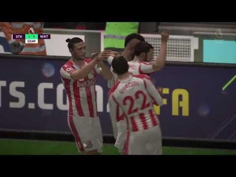 E.Choupo-Moting - Stoke 1-0 Watford