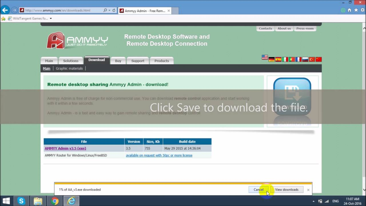 Download ammyy admin 3. 3.
